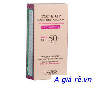 Kem chống nắng Dabo Tone Up Base