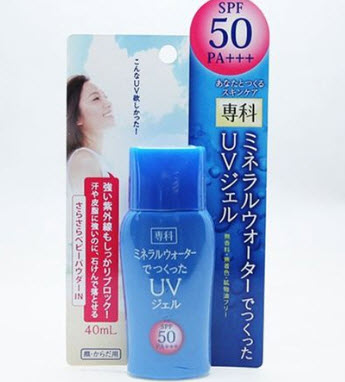 Kem chống nắng Shiseido Mineral Water