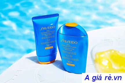 Kem chống nắng Shiseido Vỏ màu xanh