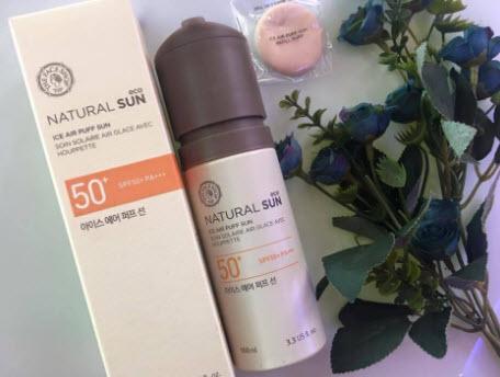 Kem chống nắng dạng xịt The Face ShopNatural Sun Eco