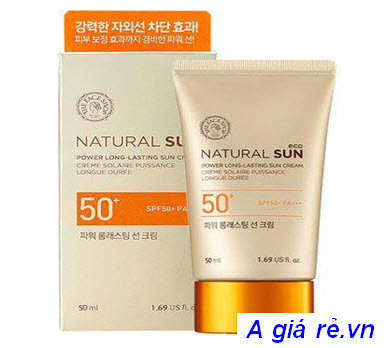 Kem chống nắng the face shop spf 50