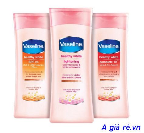 Kem dưỡng trắng da Vaseline