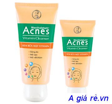 Kem rửa mặt Vitamin Acnes
