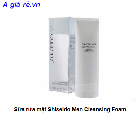 Sữa rửa mặt cho namShiseido Men Cleansing Foam