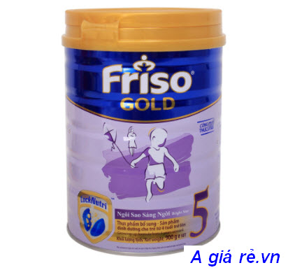 Sữa Frisolac Gold giai đoạn 5