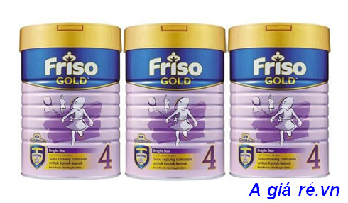 Sữa Frisolac gold 4