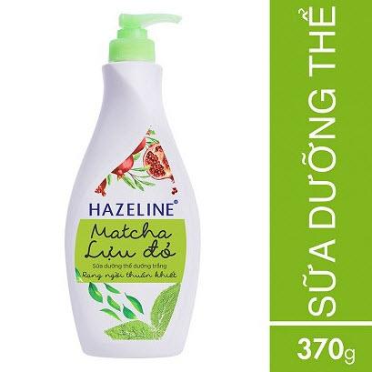 Sữa dưỡng thể trắng da toàn thân Hazeline