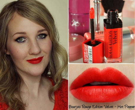 Bourjois Rouge Edition Velvet màu Hot Pepper