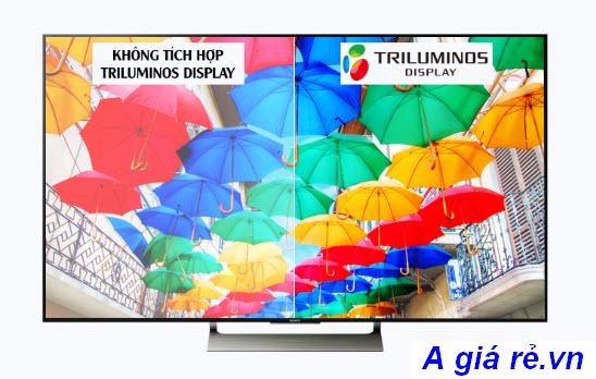 Công nghệ Triluminos trên tivi Sony đem lại hình ảnh sắc nét