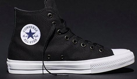 Giày Converse Nam Real màu đen Chuck II