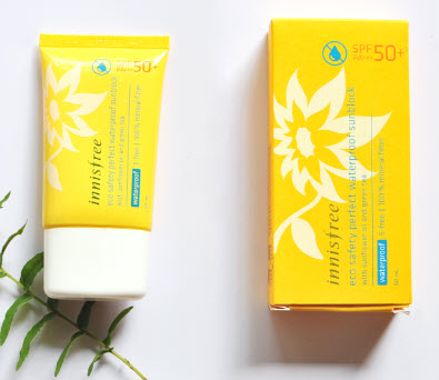 Innisfree Eco Safety Perfect Waterproof Sunblock SPF 50+ PA+++
