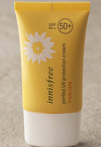 Innisfree Perfect UV Protection Cream triple care SPF 50+ PA+++
