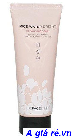 Sữa rửa mặt gạo Rice Water Bright Cleansing Foam The Face Shop