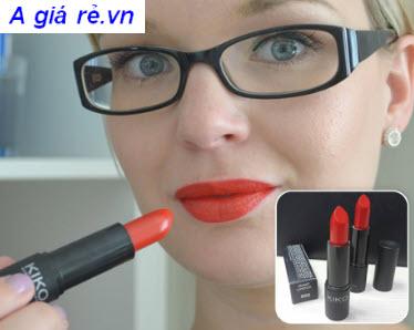 Son KiKo Smart Lipstick màu đỏ cam
