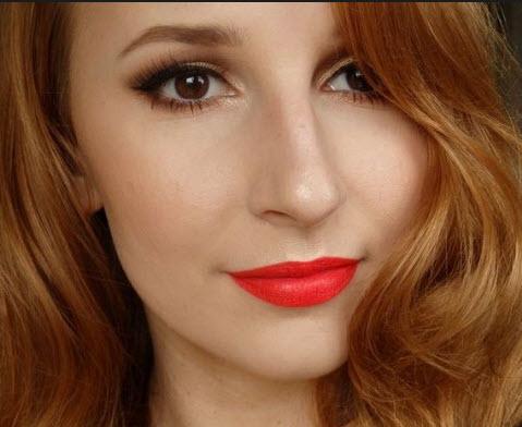 Son môi màu đỏ cam hãng nào đẹp