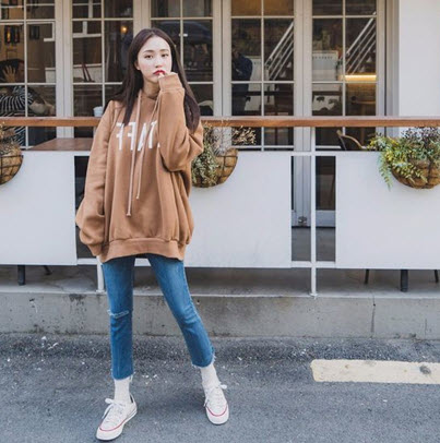 Áo khoác hoodie nữ giá rẻ