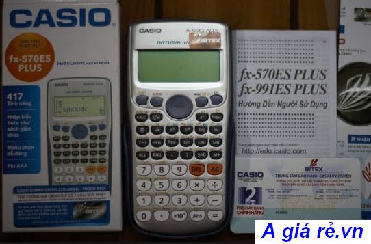 Giá máy tính casio fx 570vn plus