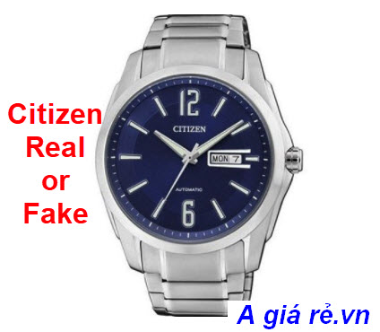 Citizen real or fake