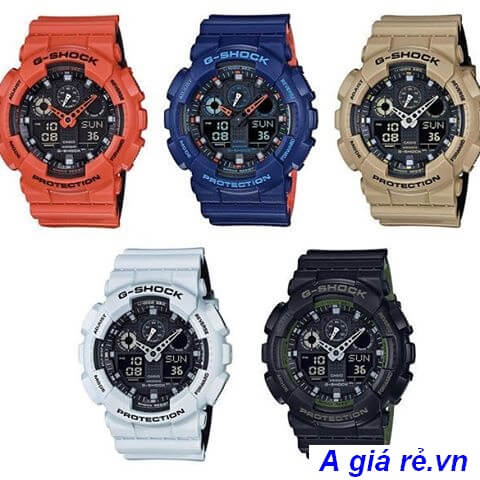 Đồng hồ G-shock GA-100