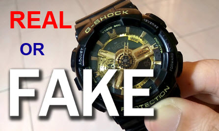 Đồng hồ G-shock Real or fake