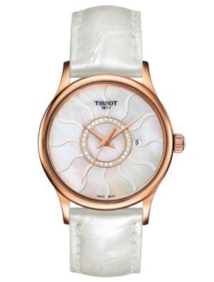 Đồng hồ Tissot nữ dây da Rose Dream Gold
