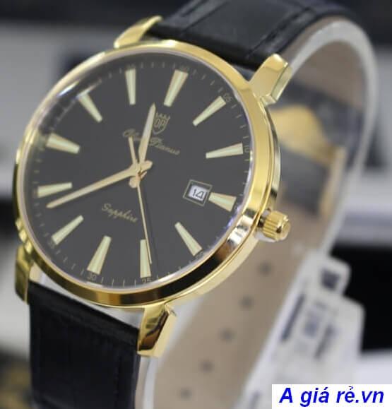 Đồng hồ nam dây da chính hãng