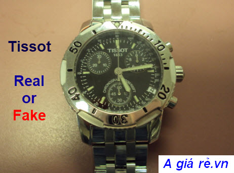 Phân biệt Đồng hồ Tissot real hay Fake