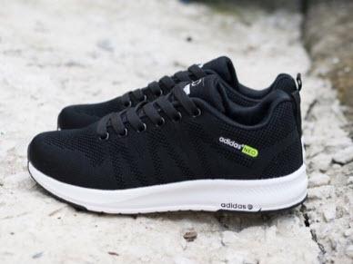 Giày Adidas Neo đen Chính hãng