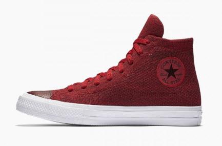 Giày converse nam cao cổ màu đỏ