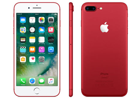 Điện thoại iPhone 7 Plus red mới nhất