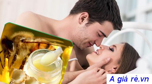 Sữa ong chúa tăng cường sinh lý cho nam và nữ