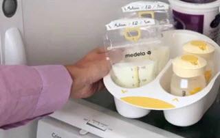 trữ sữa mẹ
