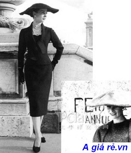 Chân váy bút chì dài hobble skirt