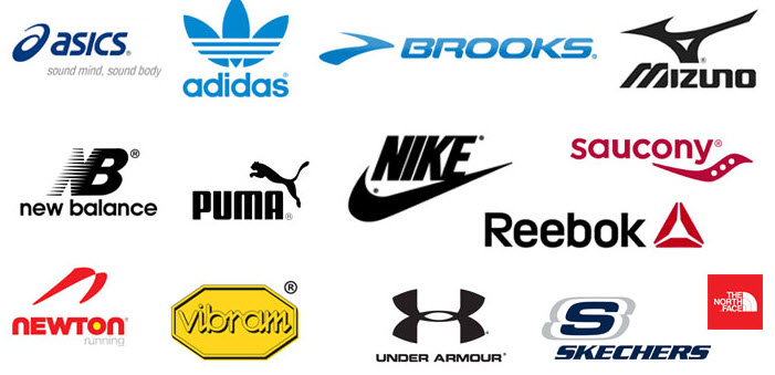 Các hãng giày nổi tiếng