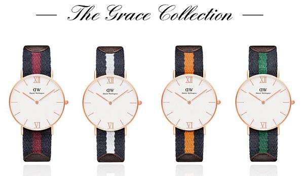 Đồng hồ DW Grace