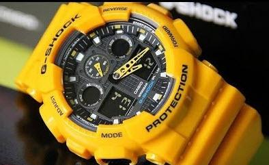 Đồng hồ G-Shock GA-100A-9A