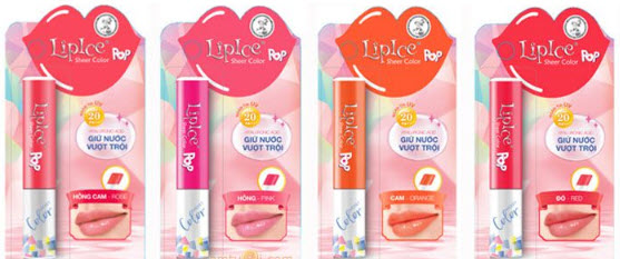 Lipice Sheer Clorlor Pop