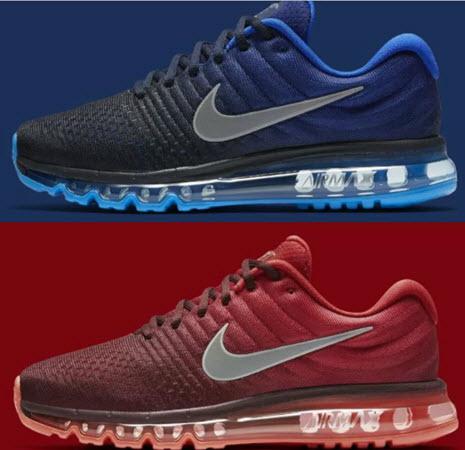Giày Nike Air Max 2017 với 2 phối màu