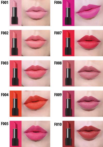 Son Amok vỏ đenStrongfix Lipstick