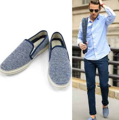 Giày lười vải nam của Vans
