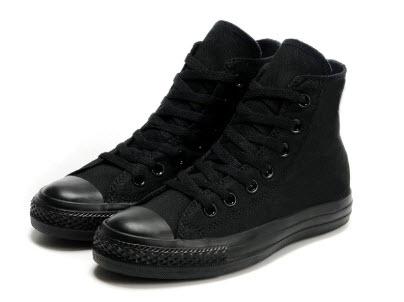 Giày Converse cổ cao nữ màu đen