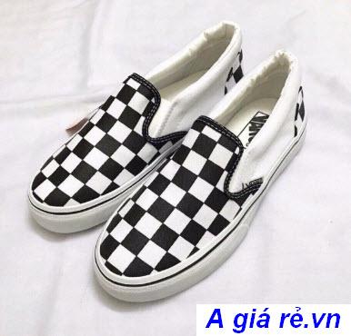 Giày lười Vans checkerboard