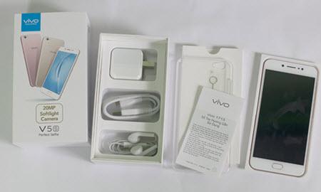 Bên trong hộp điện thoại Vivo V5S