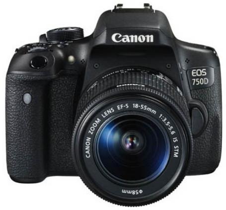 Máy ảnh EOS 750D Kit