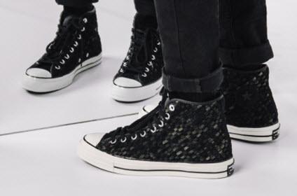 Trên chân mẫu giày mới của Converse