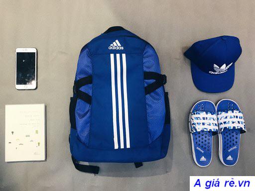 Balo Adidas chính hãng giá tốt màu xanh