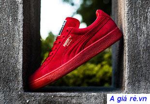Giày PUMA suede đỏ