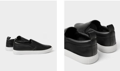 Giày lười da nam Zara
