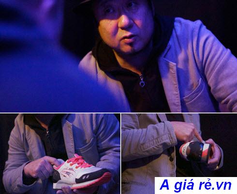 Shigeyuki Mitsui và đôi giày Asics Gel Lyte 3