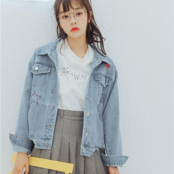 áo khoác nữ jean đẹp và chất nhất